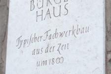 Hotel Benn Exterior Denkmal Schild